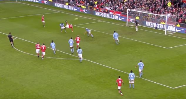 Rooney overhead kick vs Man City Feb 2011