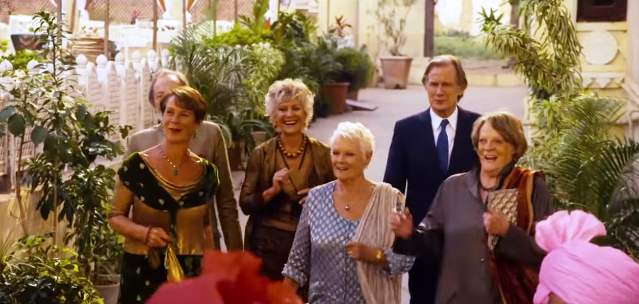 Review The Second Best Exotic Marigold Hotel Mancunian Matters