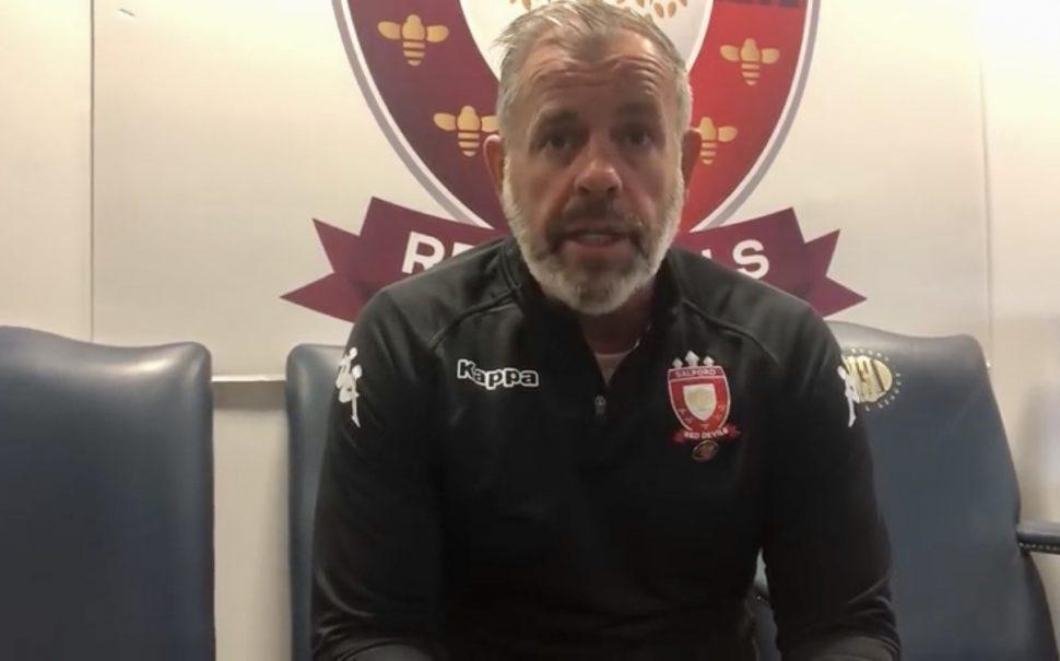 Ian Blease Salford Red Devils trust honesty hard work