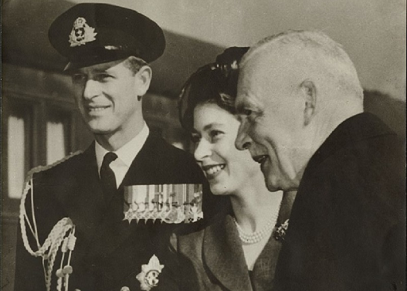 Prince Philip and Queen Elizabeth - a young love story