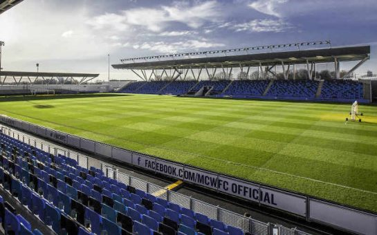 Manchester City academy stadium