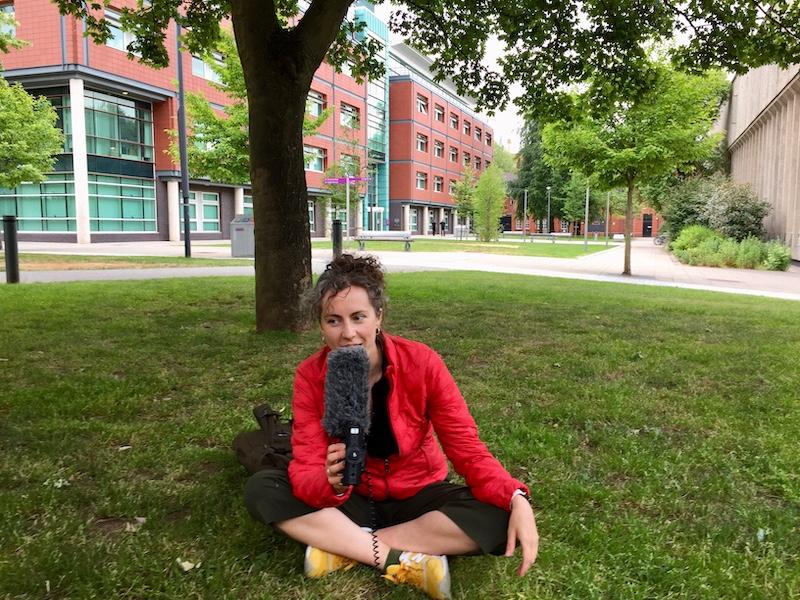 Amy Webber Manchester comedy scene woman
